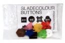 Разноцветные пуговицы разных размеров и форм               арт. ИА3504