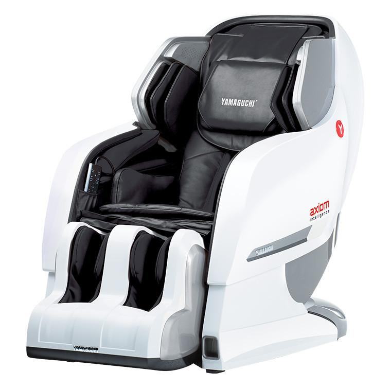 Массажное кресло Yamaguchi YA-6000 Axiom (бело-черное)              арт. UM18429