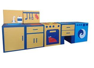 Мягкий игровой комплект «Кухня»                  арт. АСп19896