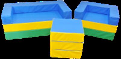 Детская игровая бескаркасная мебель-трансформер                  арт. DmL23828