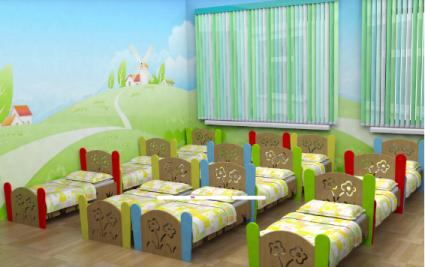 Кровать детская                арт. MKr24112