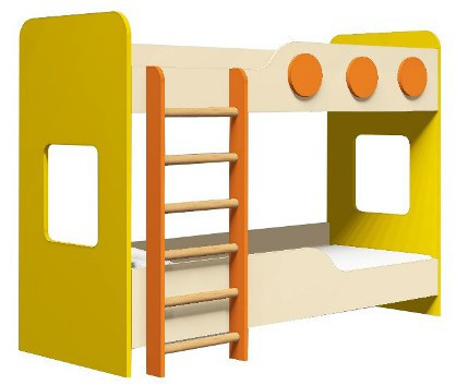 Кровать детская 2х ярусная               арт. MKr24147