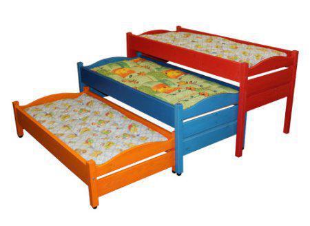 Кровать детская 3х ярусная               арт. MKr24160