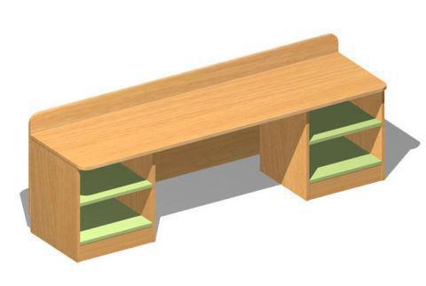 Стол дидактический (без наполнения)   (ЛДСП)             арт. MKr24176