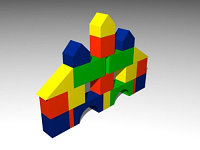 Набор  для конструирования Городок 2                 арт. AQ10392