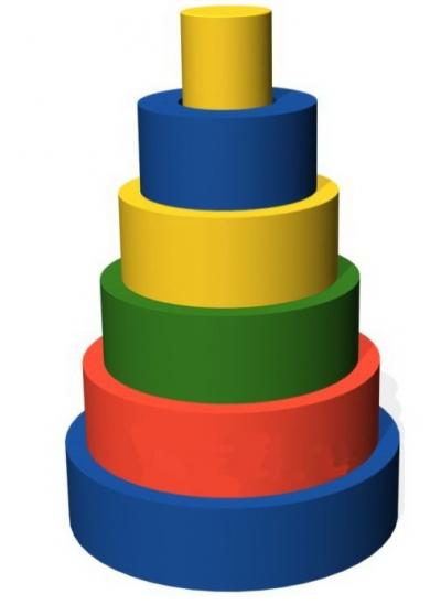 Набор  для конструирования Пирамида                 арт. AQ17076
