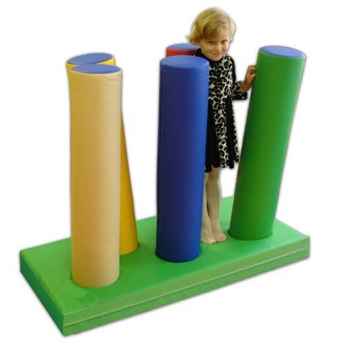 Детский набор мягких модулей «Частокол»                   арт. АЛ12745
