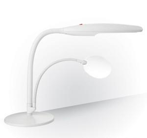 Настольная лампа с лупой «Лебедь»                арт.ЭГ14768