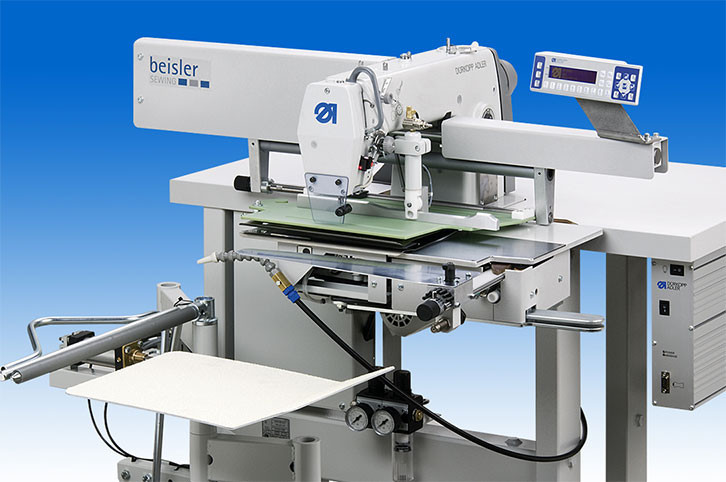 743-221-01 Sch001 Швейная установка для изготовления вытачек и складок длинной до 150 мм (челночный)