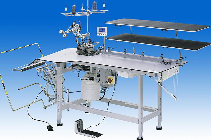 1281-5-1 Е1 ВМ00001 Durkopp Adler Автомат для стачивания боковых и шаговых швов брюк и юбок