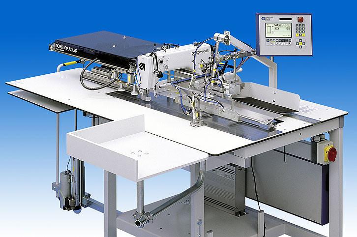2111-5 BM00001 Durkopp Adler Полуавтомат для притачивания с одновременной подгибкой подзора кармана