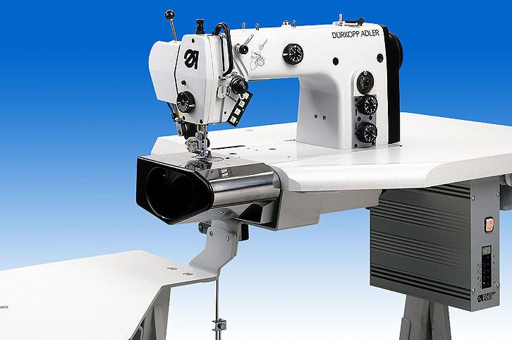 550-5-5-2 BM00001 Durkopp Adler Рабочее место для прокладывания строчки по поясу брюк и юбок