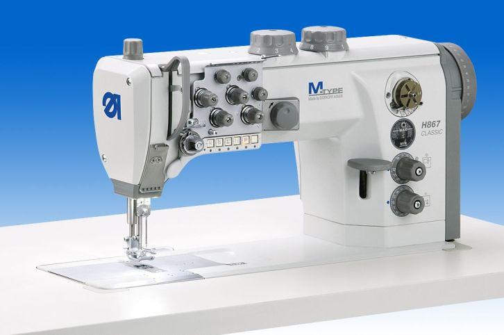 H867-290060 /MSh02f/E24_12-12 Двухигольная машина для тяжелых материалов