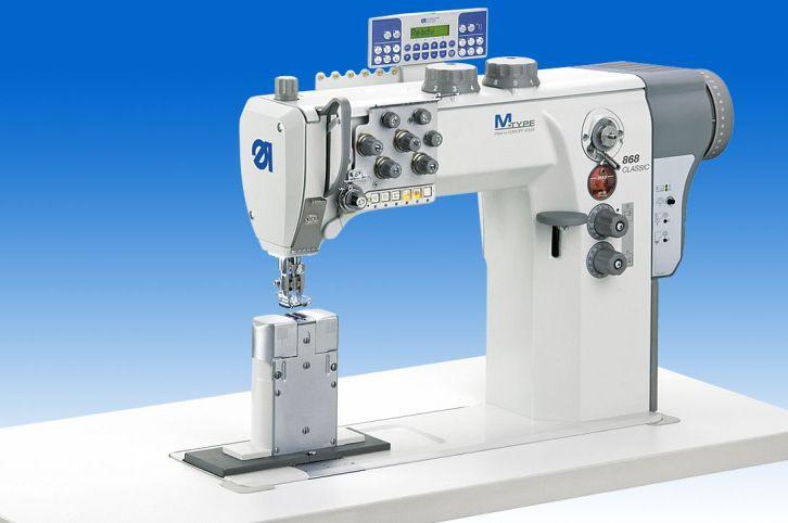 868-290321-M/E31-10/12K01 Двухигольная колонковая швейная машина челночного стежка