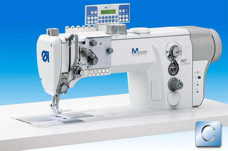 867-190145-M-E102K1 Одноигольная швейная машина челночного стежка с короткой обрезкой