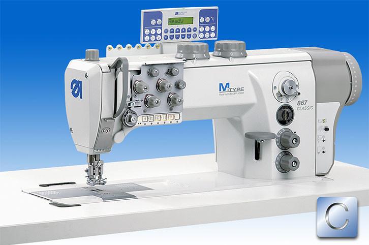 867-290445-M_Е122/8-9 Двухигольная машина с короткой обрезкой