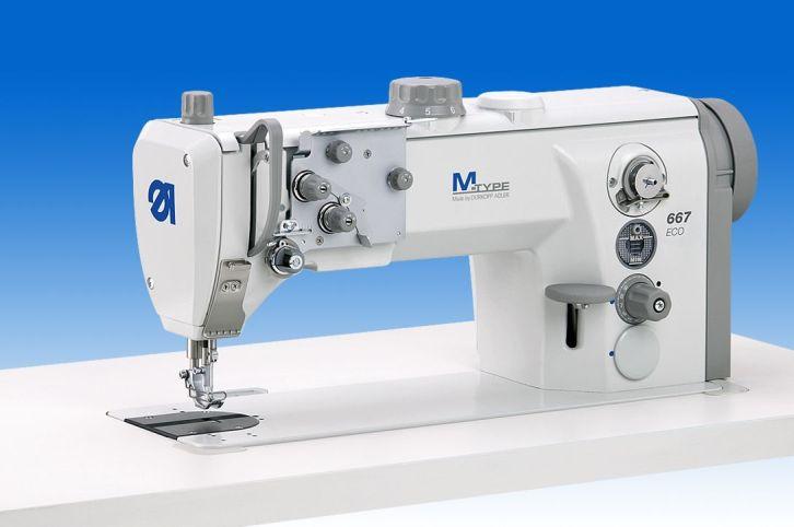 667-180030E4BO/h/K01 Одноигольная машина челночного стежка