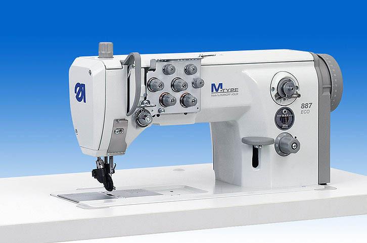 887-260040E15/2.4MS20HK01 Двухигольная швейная машина с плоской платформой
