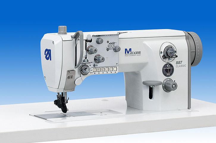 887-160142E2MS22DK01 Одноигольная швейная машина с плоской платформой