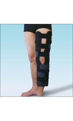 Бандаж на коленный сустав фиксирующий с ребрами жесткости BKFO
