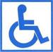 Пиктограмма простая «Доступность для инвалидов в креслах-колясках» (знак доступности объекта)               арт. 4390