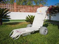 Кресло-коляска пляжная плавающий шезлонг Tumboroller арт. OB23708