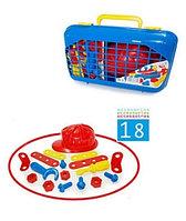 Игровой набор инструментов в чемоданчике (18 предметов)