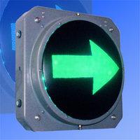 Секция стрелка зеленая правая 300 мм светофора транспортного                         арт. СцП23385