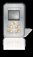 Мобильный вибрационный приемник Круст арт. KR19100