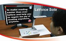 Читающая машина с функцией увеличения изображения LaVoice Solo                    арт. 17765