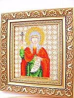 Набор для вышивки бисером Чарівна Мить Б-1073 Икона святая мученица Светлана (Фотина)