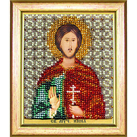 Б-1197 Икона святого мученика Инны. Чарівна Мить. Набор для вышивания бисером