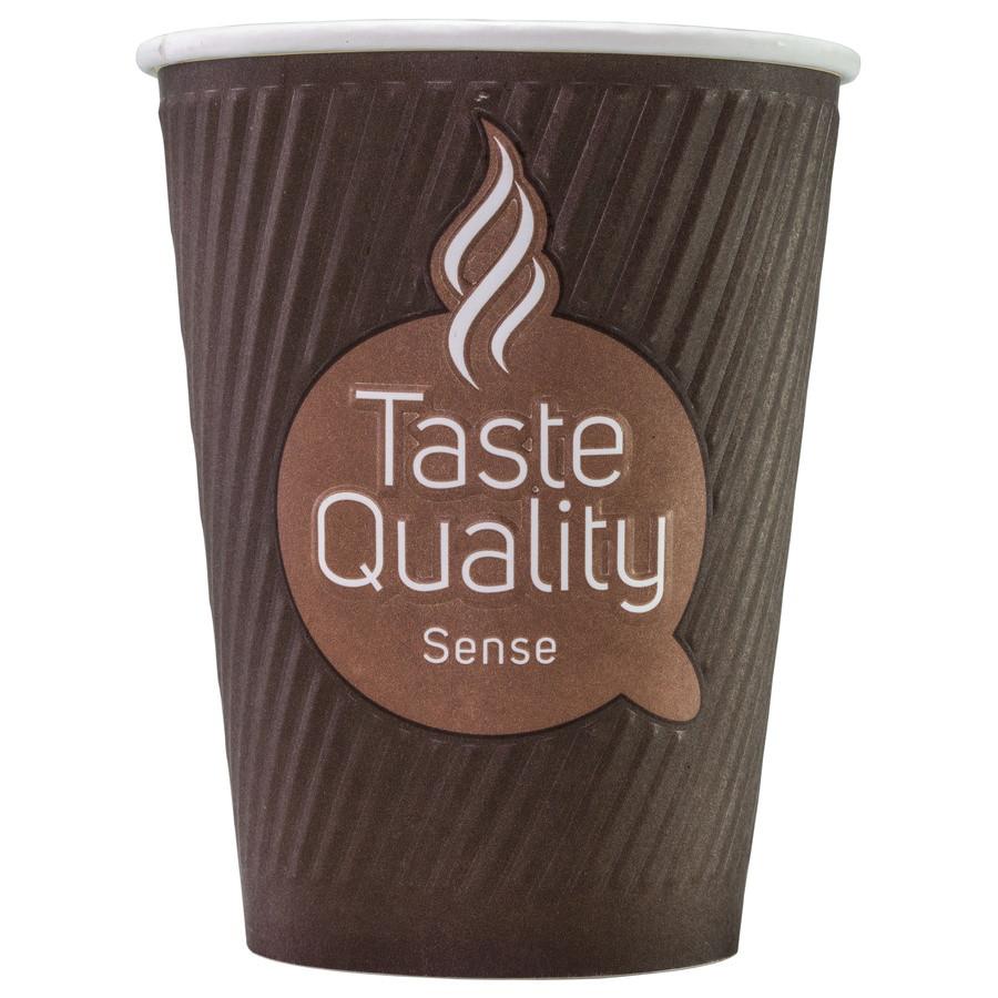 Стакан бумажный ThermoCup Taste Quality Sense 300 мл