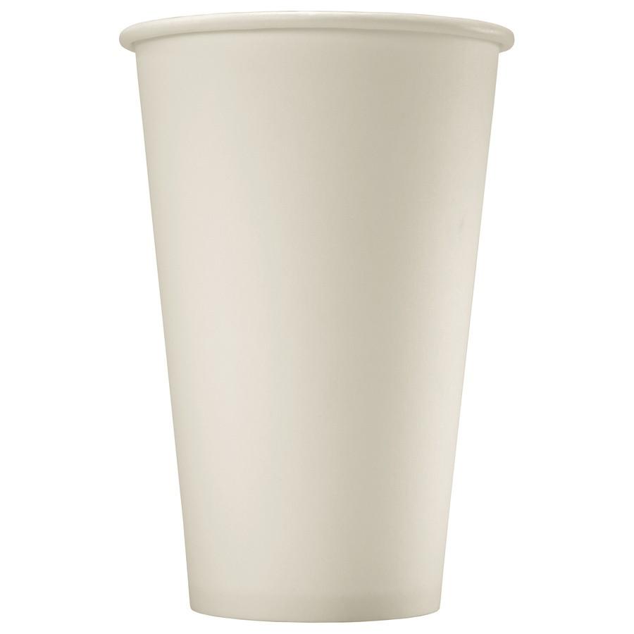 Стакан бумажный одноразовый белый 300мл, d80