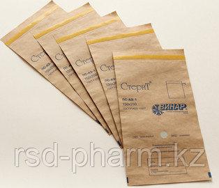 Самоклеящиеся пакеты для стерилизации из крафт-бумаги, «СтериТ®», 100 шт в уп