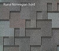 Гибкая черепица РУФЛЕКС (мягкая кровля), СБС модифицированная, Гарантия 35 лет, Runa Norwegian fjord