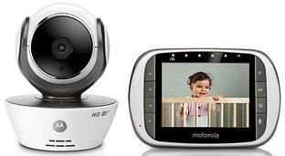 Видеоняня Motorola MBP853 Connect (белый цвет)