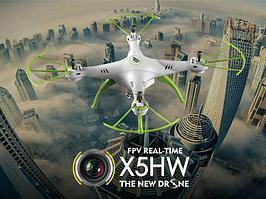 Квадрокоптер Syma X5hw с барометром и бесплатной доставкой.