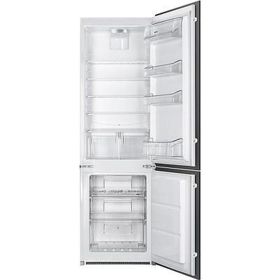 Встраиваемый двухкамерный холодильник Smeg C3172NP