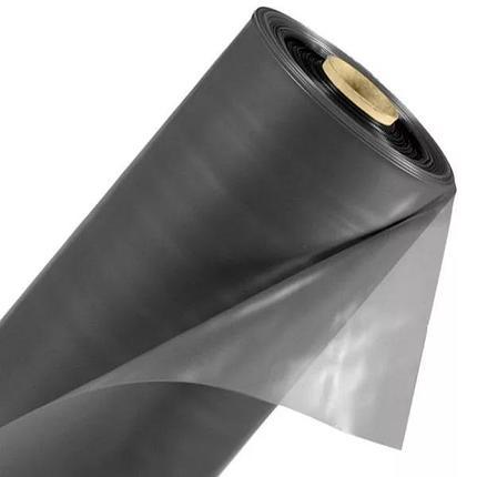 ПЛЕНКА полиэтиленовая 200 мкр  2,5м * 50м черная, фото 2