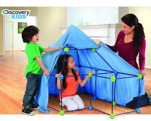 Конструктор строительный Форт 77 деталей от Discovery Kids, фото 2