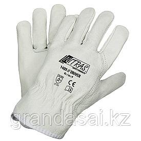 Кожаные перчатки NITRAS DRIVER