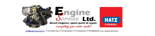 ТОО Engine Service - дилер MOTORENFABRIK HATZ GmbH&Co.KG    g.page/Hatzkz/review