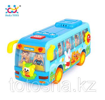 Huile Toys Счастливый Танцующий школьный автобус