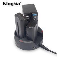 Тройное зарядное устройство KingMa для Sony NP-FM500H/NP-F970/F960/F750/F550, фото 1