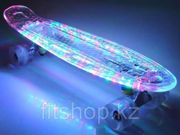 Пенни Борд LED  (горящие колеса)