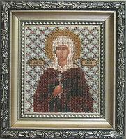 Б-1080 Набор для вышивки бисером Икона святая мученица Лидия