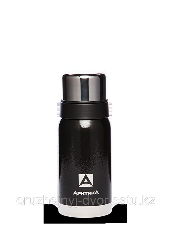 Термос бытовой, вакуумный для напитков тм Арктика 500 мл. черный