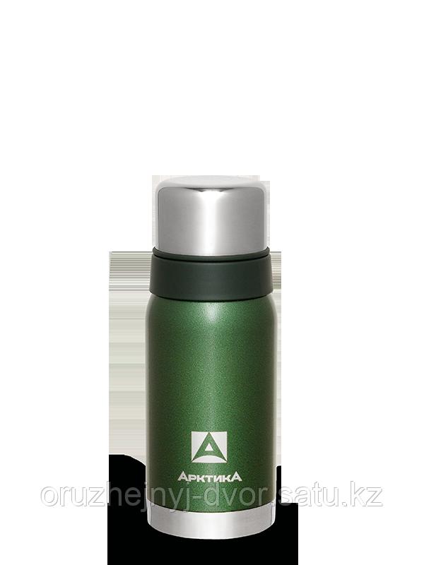 Термос бытовой, вакуумный для напитков тм Арктика 500 мл. зеленый