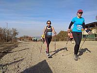 Соревнования по скандинавской ходьбе в дисциплине Skill Race